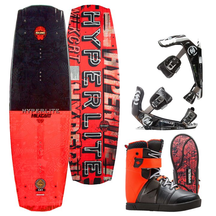 Hyperlite Milkcart Wakeboard 2016 Package