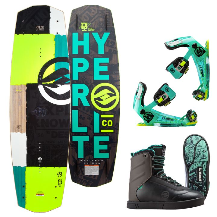 Hyperlite PBJ Wakeboard 2016 Package