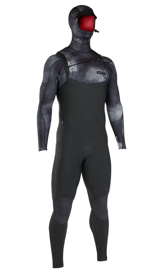 Ion Onyx Amp FZ 6/5 Hooded Wetsuit 2019