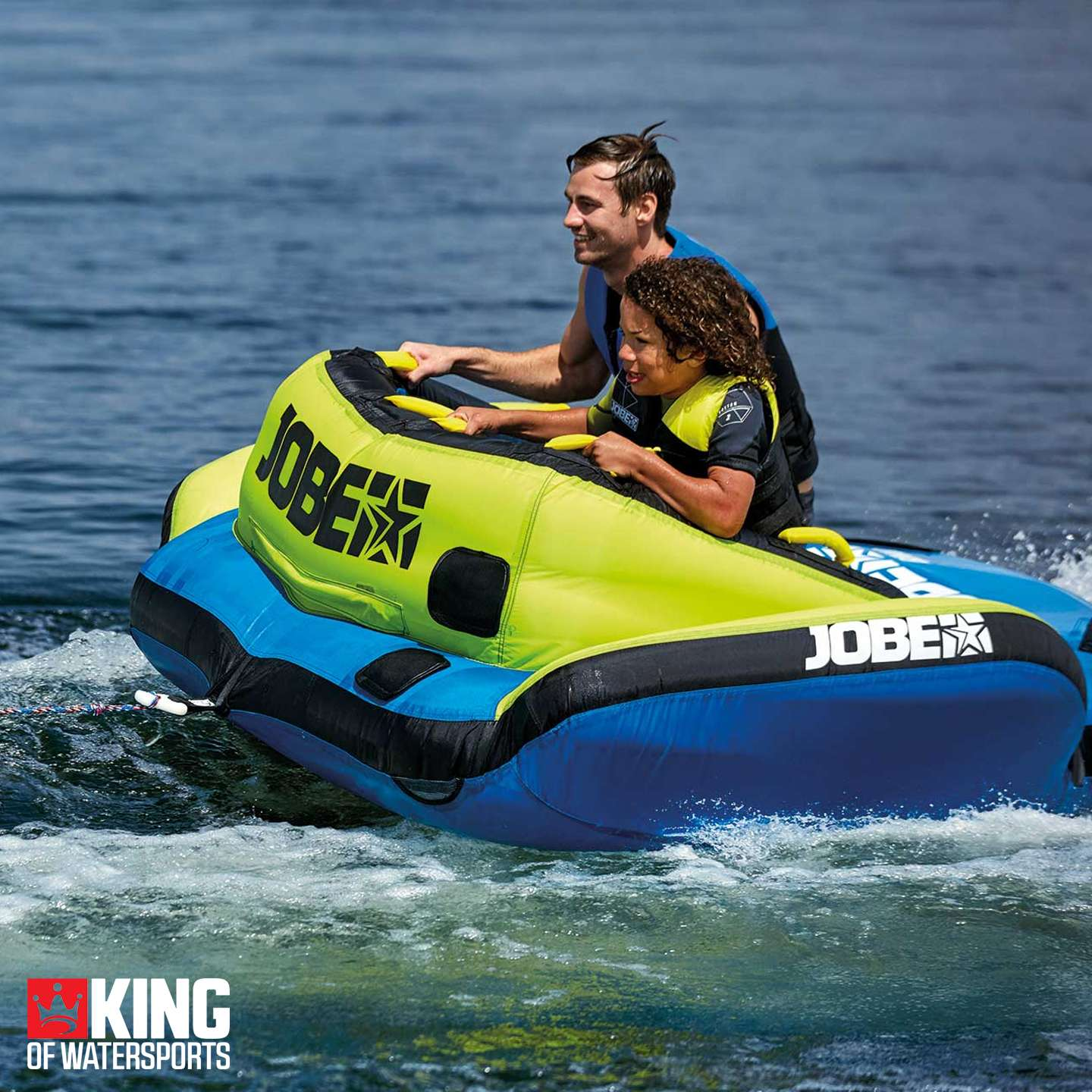 Jobe Binar 2 Inflatable Tube King Of Watersports Towing Harness Nextprev