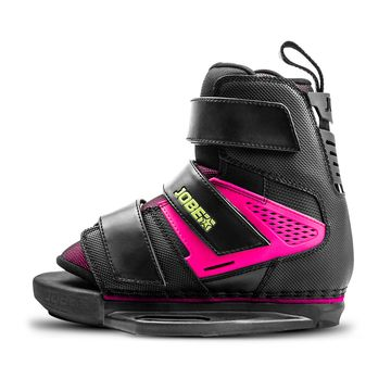 Jobe Host Pink 2019 Wakeboard Bindings