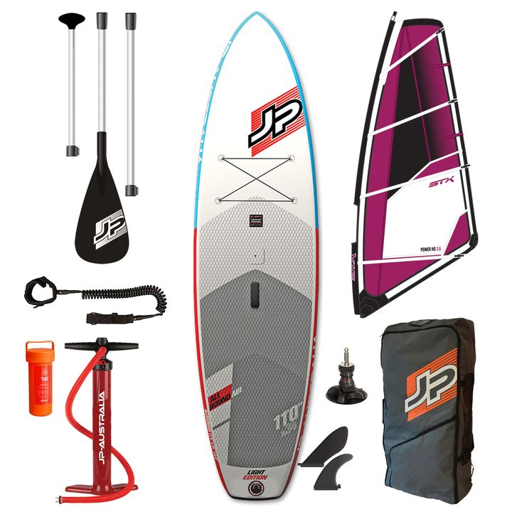 JP AllRoundAir LE 2017 11'0 Inflatable SUP Windsurf Package