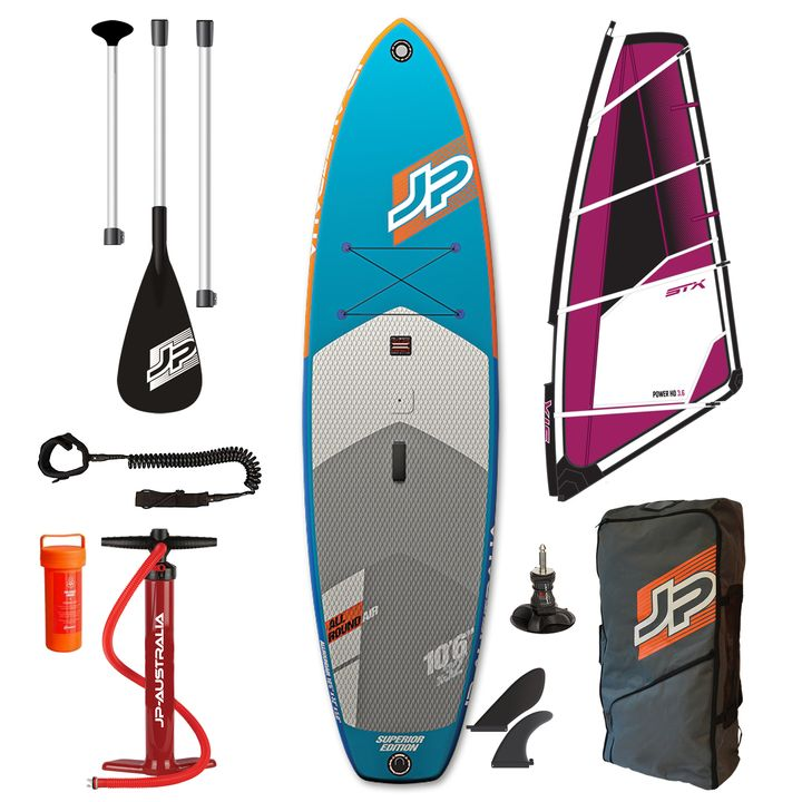 JP AllRoundAir SE 2017 10'6 Inflatable SUP Windsurf Package