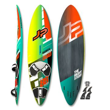 JP Radical Thruster Quad Pro Windsurf Board 2017