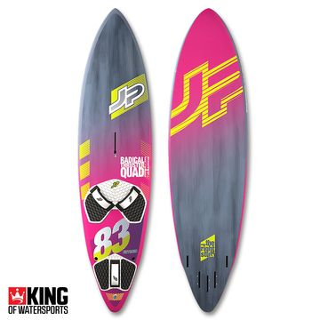 JP Radical Thruster Quad Pro Windsurf Board 2018