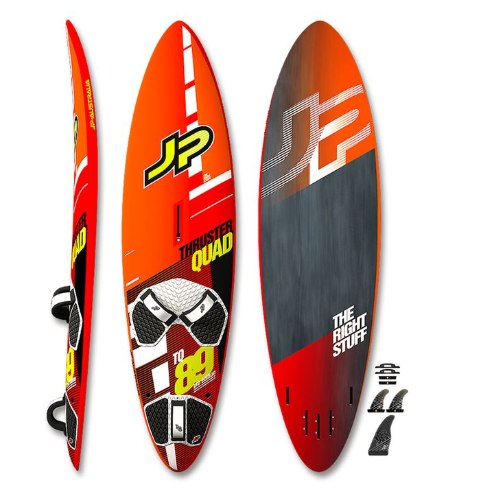 JP Thruster Quad Pro Windsurf Board 2017