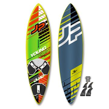 JP Young Gun Radical Thruster Quad Windsurf Board 2017