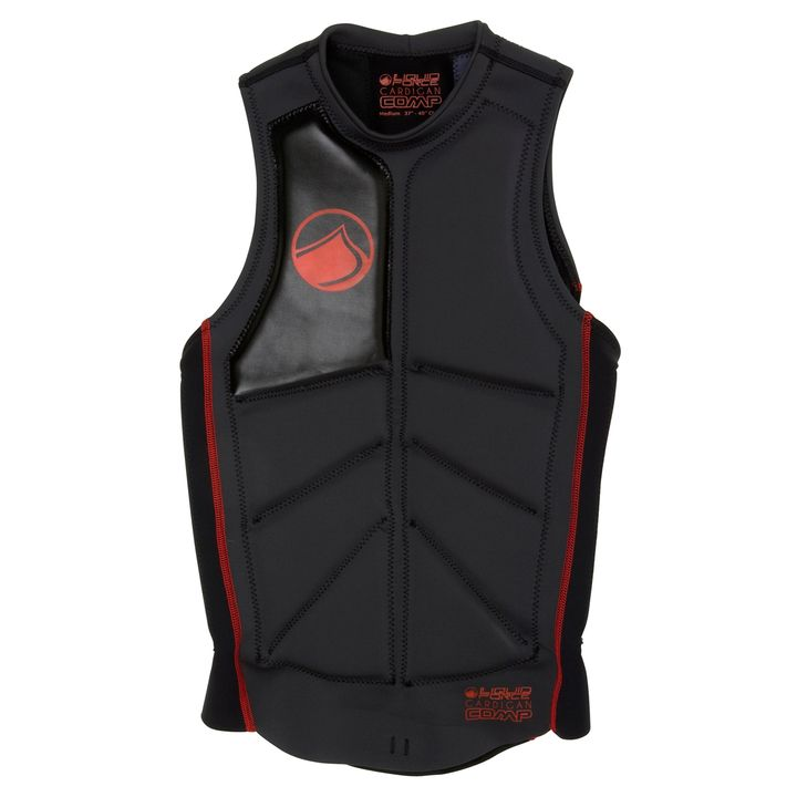 Liquid Force Cardigan Wake Impact Vest 2013 Red