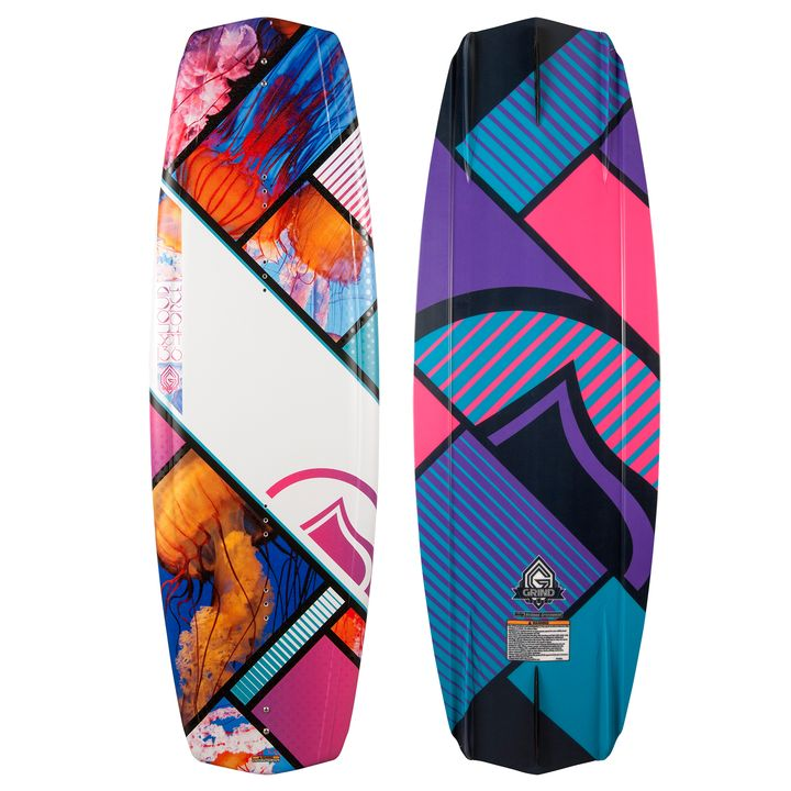 Liquid Force Womens Jett Grind Wakeboard 2014