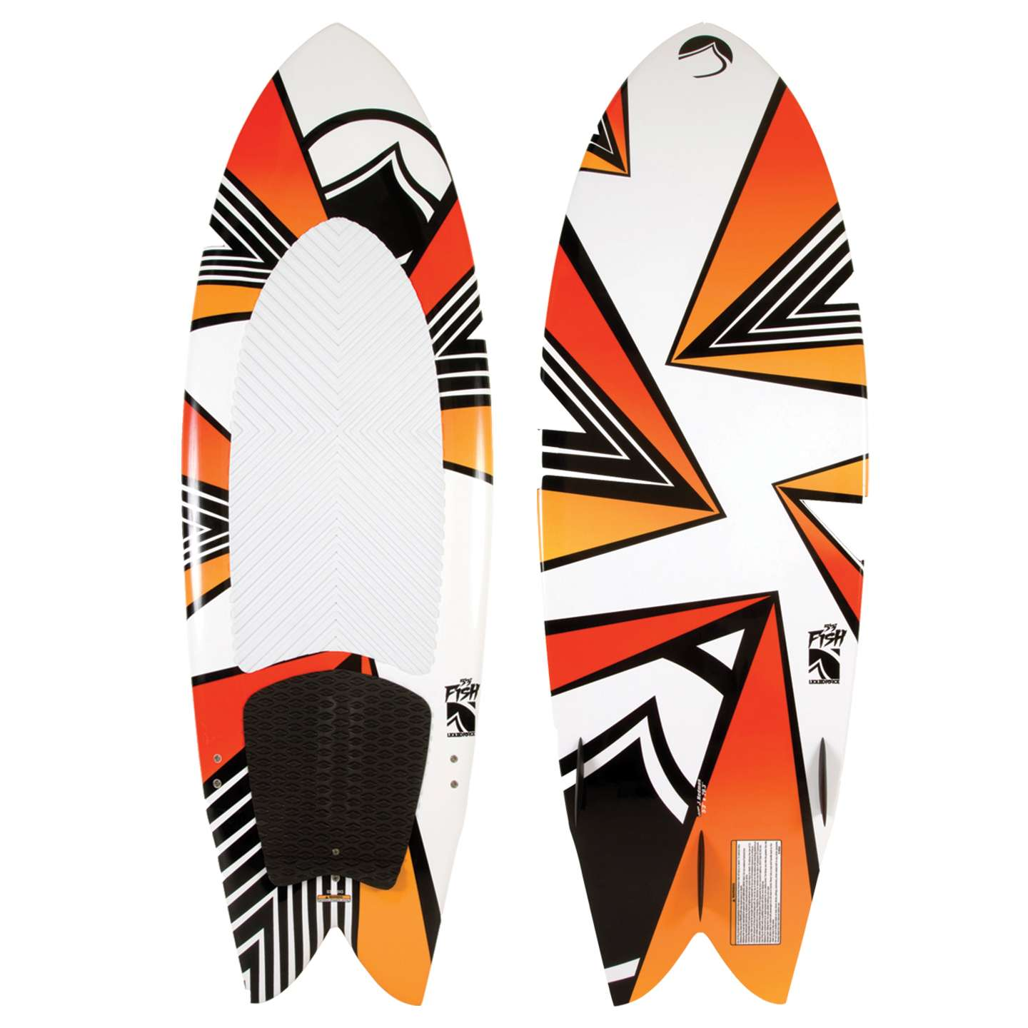 Liquid force kite fish kiteboard 2014 king of watersports for Liquid force fish