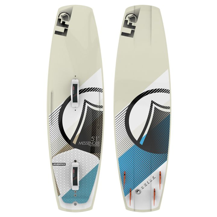 Liquid Force Messenger 5'1 Kite Surfboard 2014