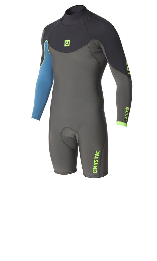 Mystic Crossfire 3/2 Longarm Shorty Wetsuit 2016