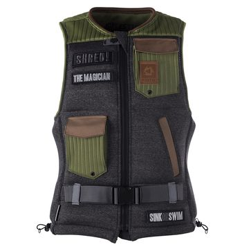 Mystic The Magician Wake Impact Vest 2017