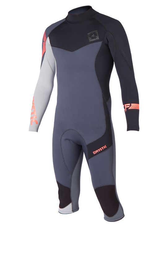 Mystic Crossfire 4/3 Longarm Shorty Wetsuit 2015