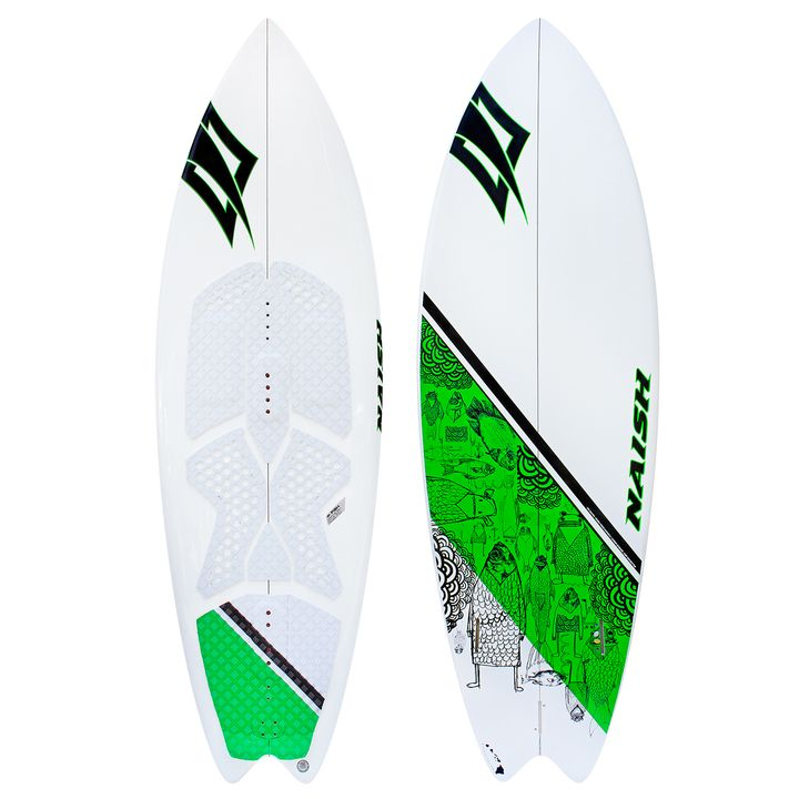 Naish Fish Kite Surfboard 2014