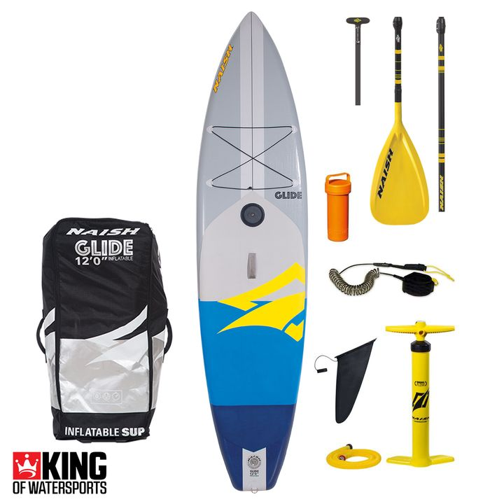 Naish Glide Crossover 12' LT Inflatable SUP 2019