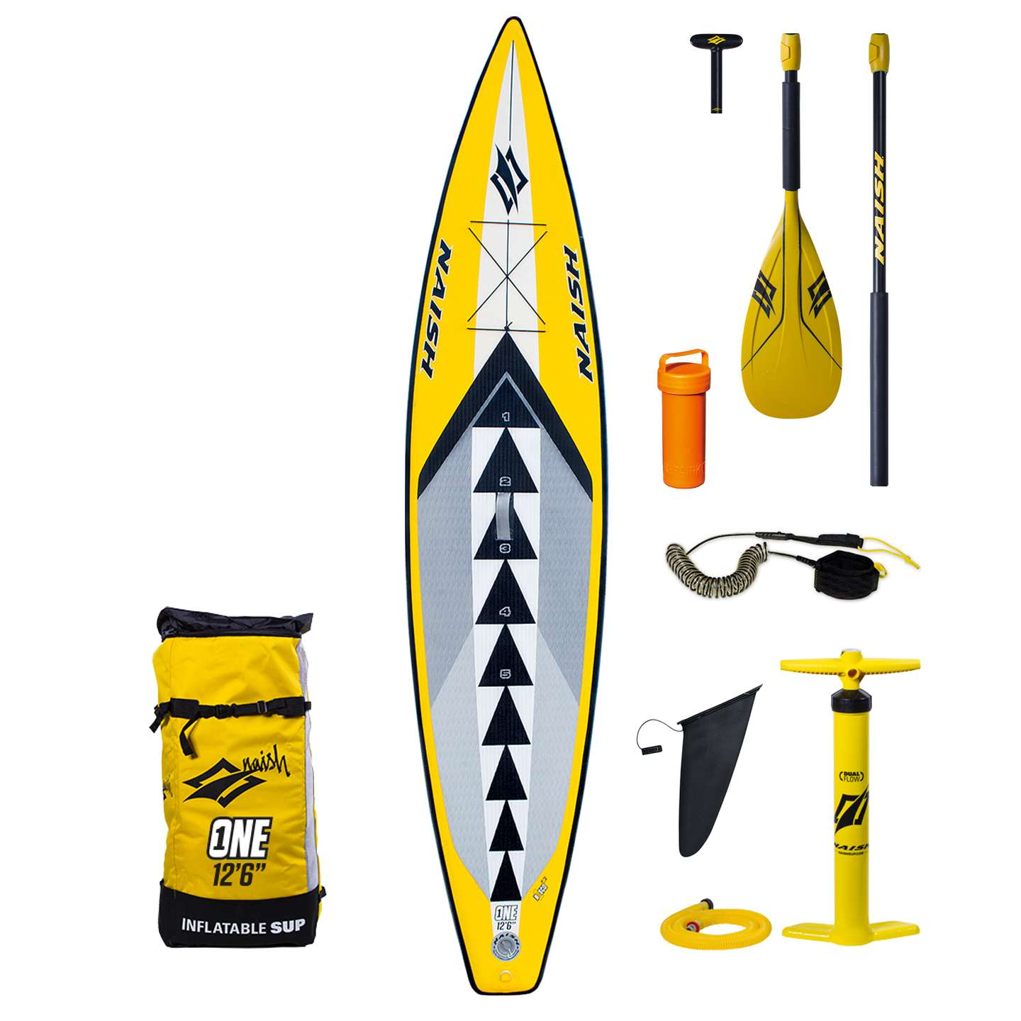 Naish One Air Nisco 12 6 Inflatable Sup Board
