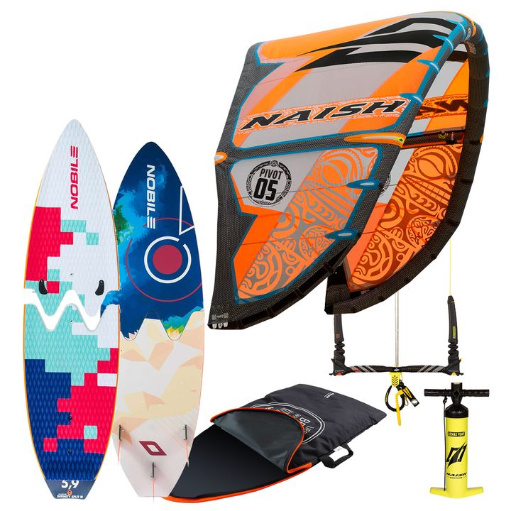 Naish Pivot & Infinity Split Surf 2016 Package