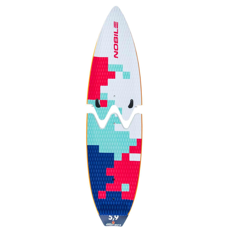 Nobile Infinity 5 9 Split 2016 Earth Kite Surfboard King