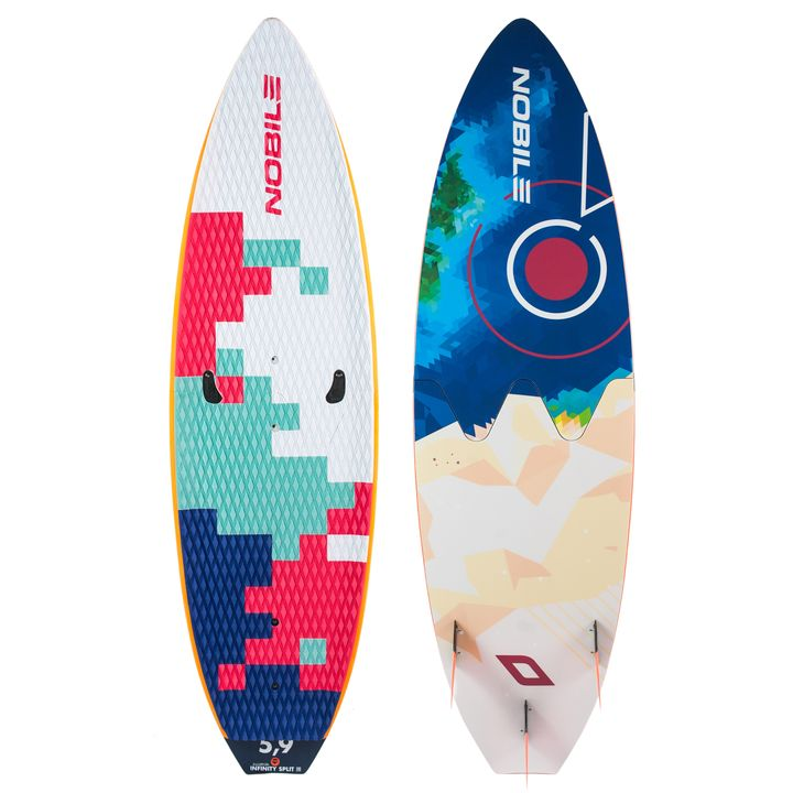 Nobile Infinity 5'9 Split 2016 Earth Kite Surfboard