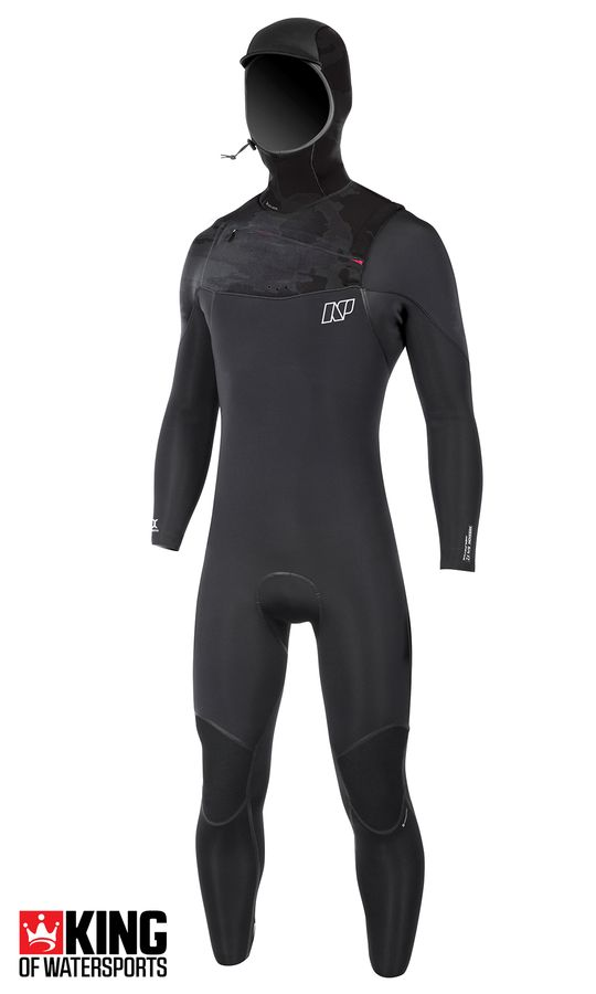 NP Mission 6/5/4 FZ Hooded Wetsuit 2018