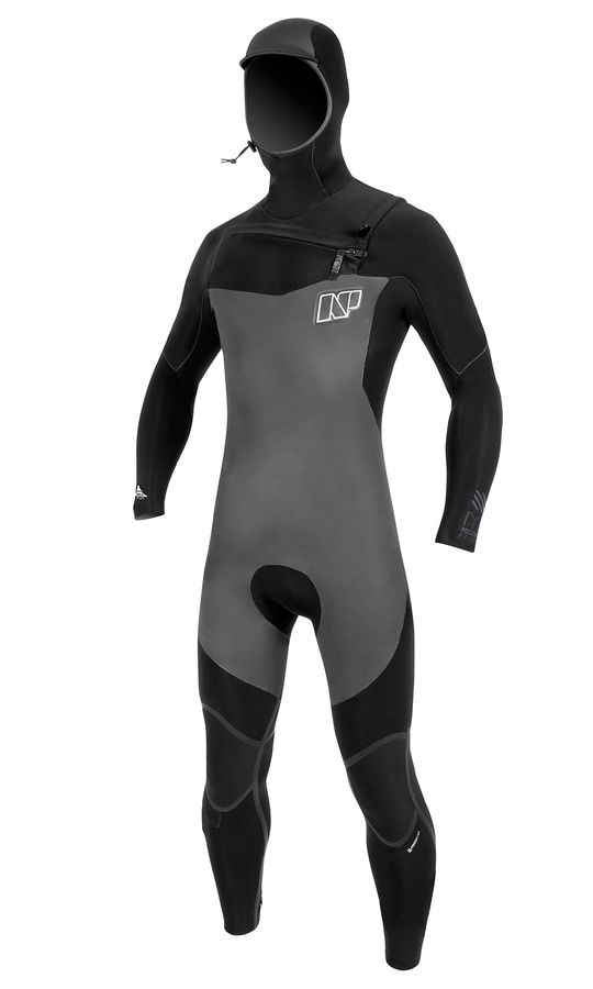 NP Mission 6/5/4 FZ Hooded Wetsuit 2016