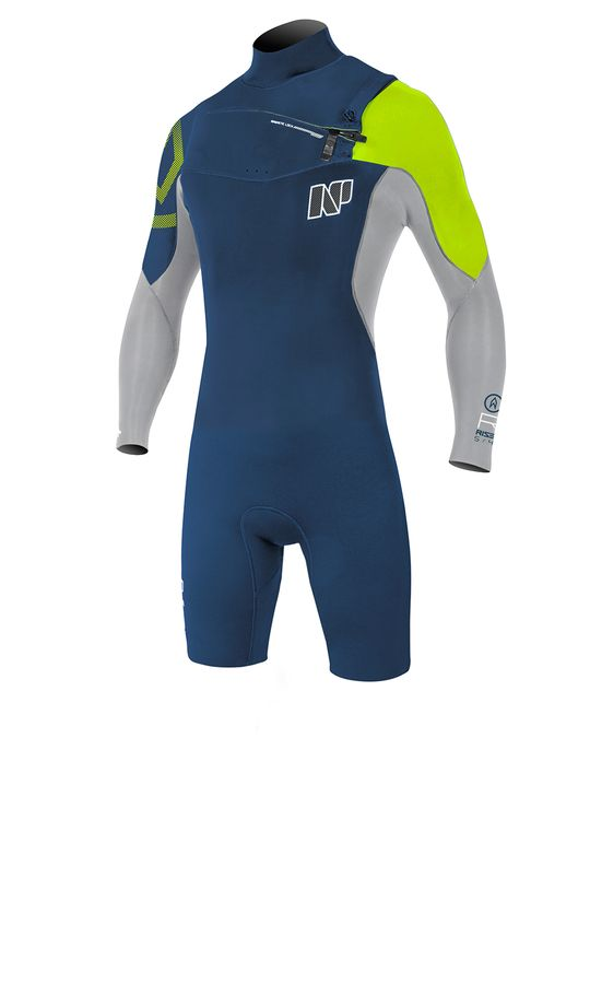 NP Rise 3/2 FZ LS Spring Wetsuit 2017