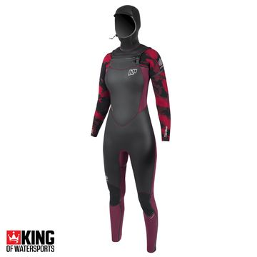 NP Womens Serene 6/5/4 FZ Hooded Wetsuit 2018