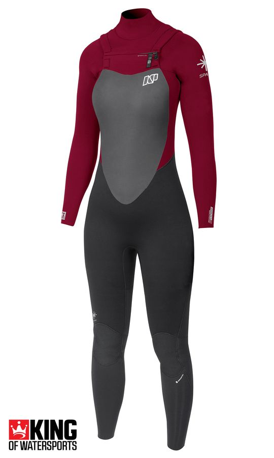 NP Womens Spark 5/4/3 FZ Wetsuit 2018