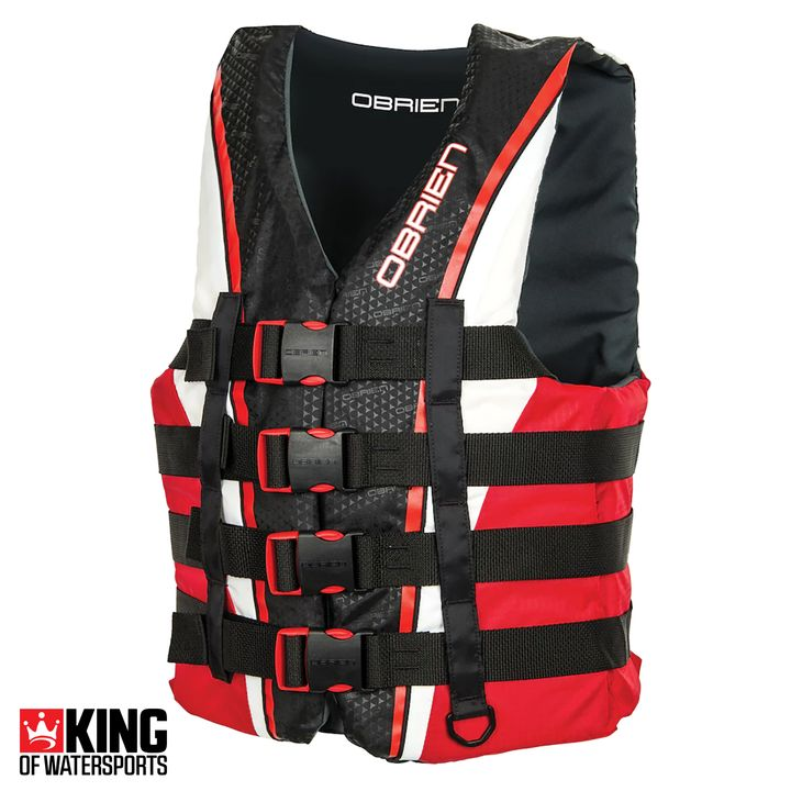 O'Brien 4 Buckle Pro Nylon Wake Vest 2018