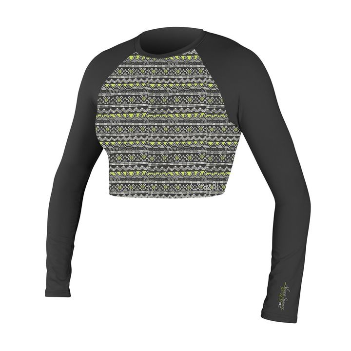 O'Neill Womens Skins LS Crop Top 2015
