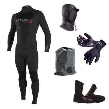 O'Neill Epic 5/4 Wetsuit 2015 Package