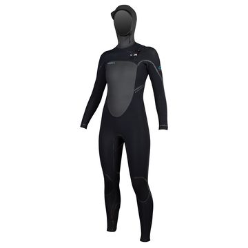 O'Neill Womens Pyrotech 6/4 Hooded Wetsuit 2015