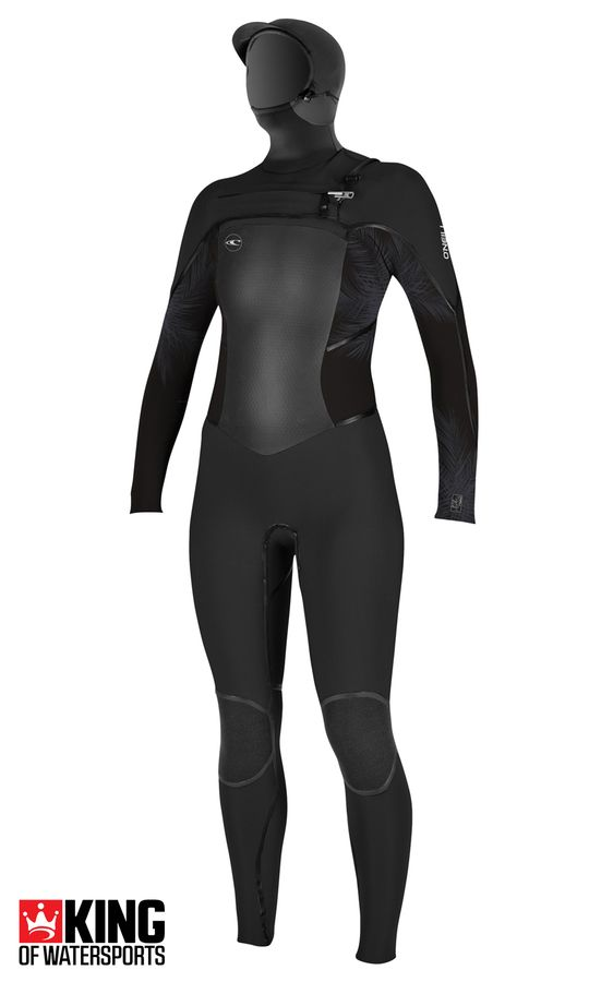 O'Neill Womens Psycho Tech 6/4 Hooded Wetsuit 2019