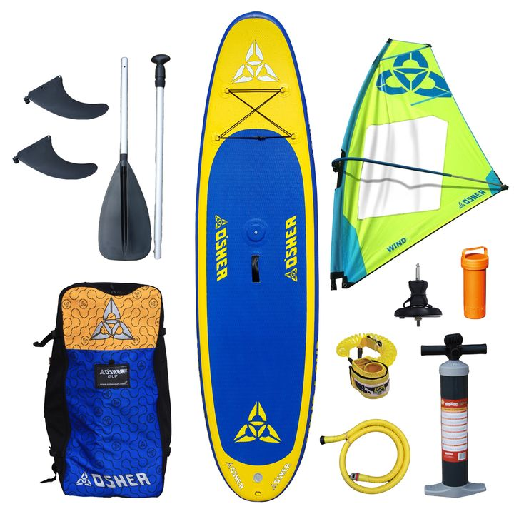 O'Shea 11'0 Wind Inflatable SUP Board 2016 with Wind 4.5 Rig