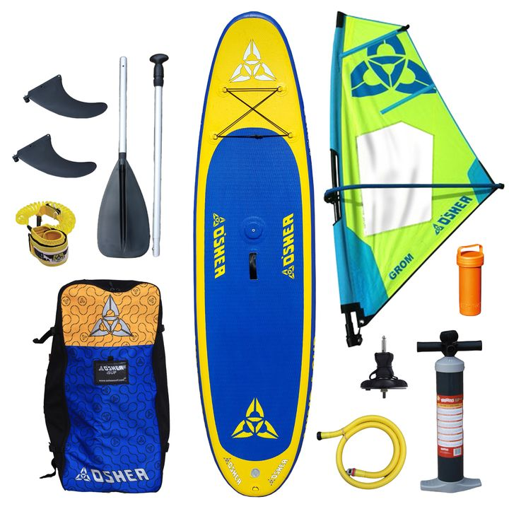 O'Shea 11'0 Wind Inflatable SUP Board 2016 with Grom 2.0 Rig