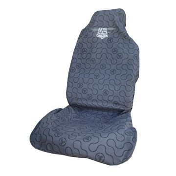 O'Shea Grey Link Car Seat Cover