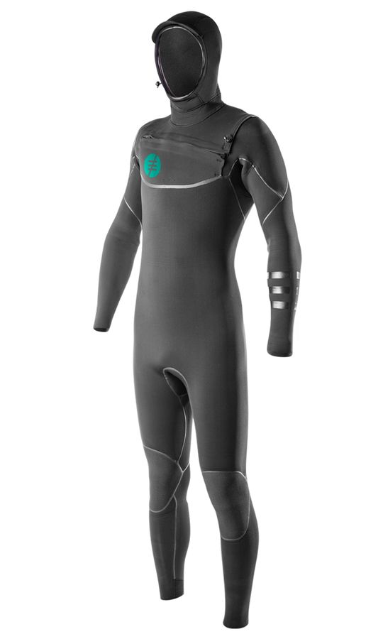 Ride Engine Apoc 5/4 Hooded FZ Wetsuit