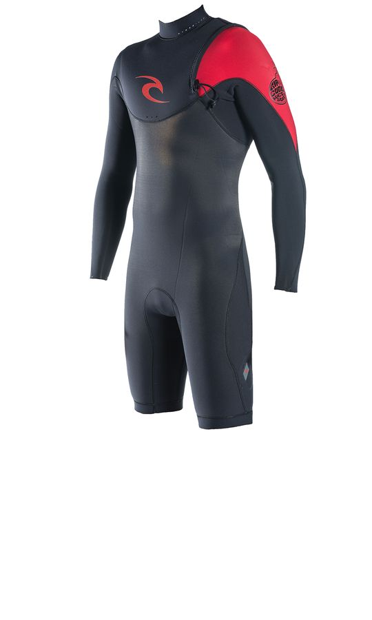 Rip Curl E Bomb Pro 2mm Zip Free Spring Wetsuit 2014