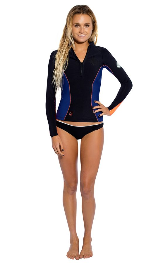 Rip Curl Womens G Bomb 1mm Wetsuit Jacket 2014