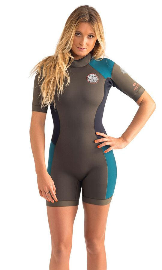 Rip Curl Womens Dawn Patrol SS Spring Wetsuit 2015
