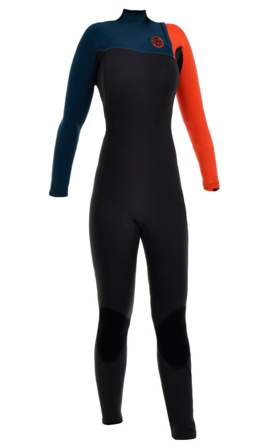 Rip Curl Womens G Bomb 3/2 Zip Free Wetsuit 2015