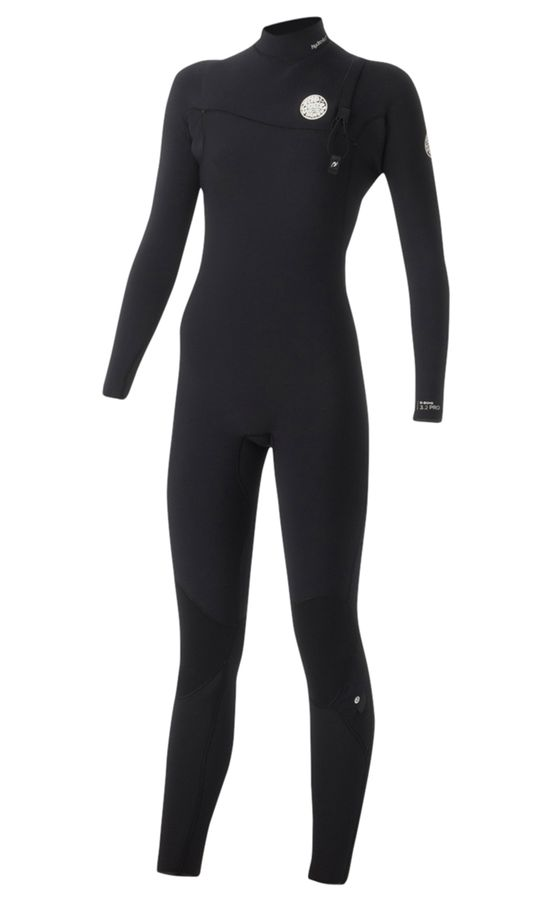 Rip Curl Womens G Bomb 5/3 Zip Free Wetsuit 2016