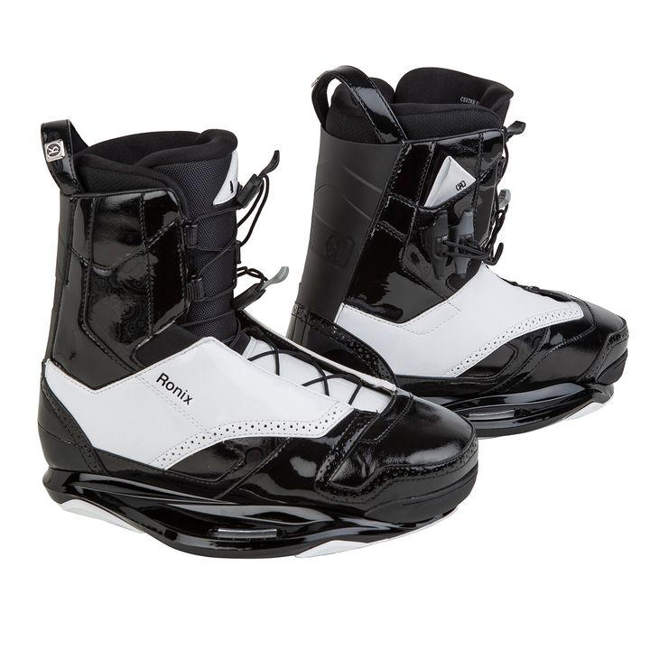 Ronix Frank Black Tie Wakeboard Boots 2015