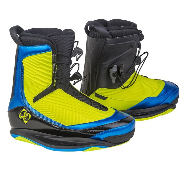 Ronix One Yellow Wakeboard Boots 2016