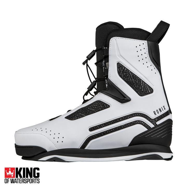 Ronix One Metallic White 2019 Wakeboard Boots