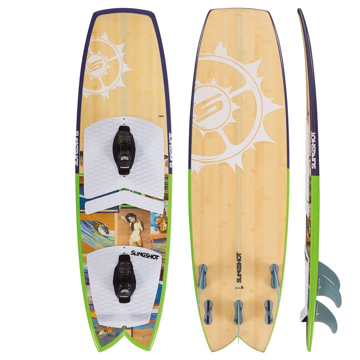 Slingshot Angry Swallow Kite Surfboard 2015
