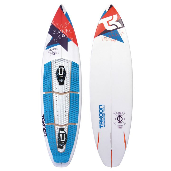 Takoon Burning Kite Surfboard 2015