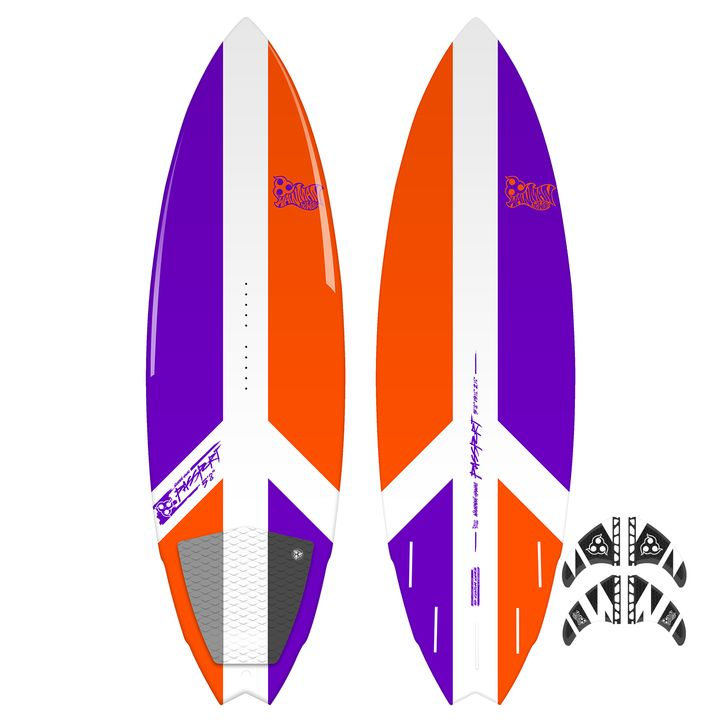 Wainman Hawaii Passport Kite Surfboard 2015