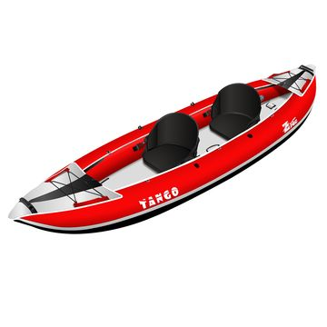 Zpro Tango 2 man Inflatable Kayak Red